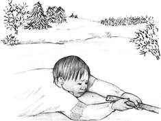 рисунки спаси ребенка